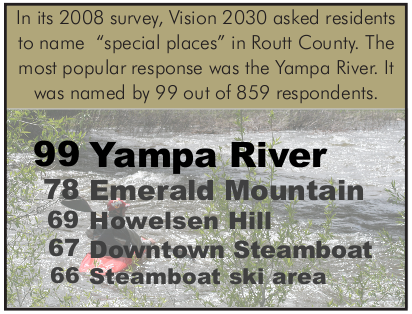 In its 2008 survey, Vision 2030 asked residents to name